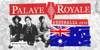 Palaye Royale AUS Tour 2019