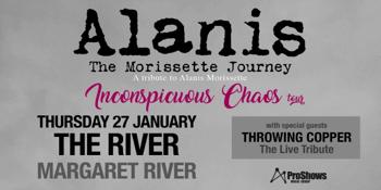 Alanis – The Morissette Journey (A Tribute to Alanis Morissette)   Margaret River