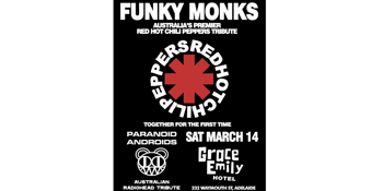 Funky Monks & Paranoid Androids at the Grace