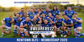 Newtown JETS 2020 Membership