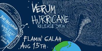CANCELLED - VERUM - Hurricane Release Show