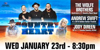 The Wolfe Brothers - Country Heart National Tour