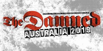 The Damned Australian Tour 2019