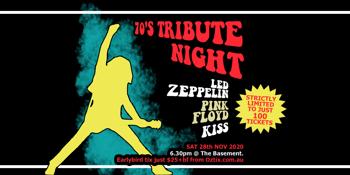 70s Tribute Night - LED ZEPPELIN + PINK FLOYD + KISS