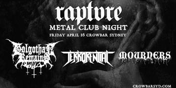 Raptvre: Metal Club Night