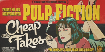 PULP FICTION performed LIVE by Cheap Fakes
