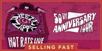 CANCELLED - Dweezil Zappa - Hot Rats Live!