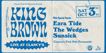 King Brown at Clancy's