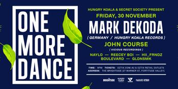 One More Dance, Brisbane