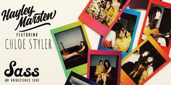 Sass & Rhinestones Tour with Hayley Marsten & Chloe Styler