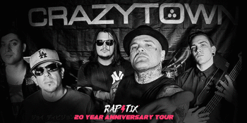 Crazy Town - The Gift of Game 20th anniversary tour