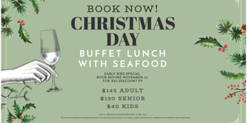 Newmarket Hotel QLD Christmas Day Buffet Lunch