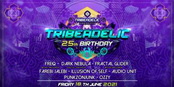 TRIBEADELIC 25th BIRTHDAY