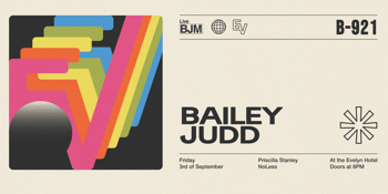 Bailey Judd 'Come Running To Me' Single Launch