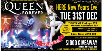 QUEEN Forever NYE 2019