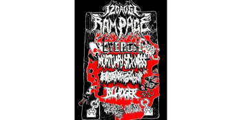 12 Gauge Rampage (NSW) Eyeroll, Mortuary Sickness, Bludger & Hormagaunt Live at The Tote
