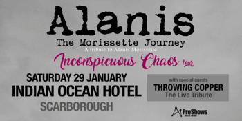 Alanis – The Morissette Journey (A Tribute to Alanis Morissette) | Scarborough