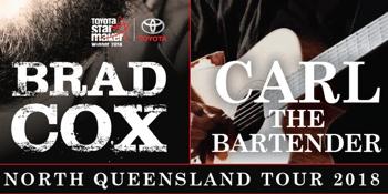 BRAD COX & CARL THE BARTENDER