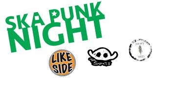 Ska Punk Night w/ Likeside, The Snouts & Jimmy Trees