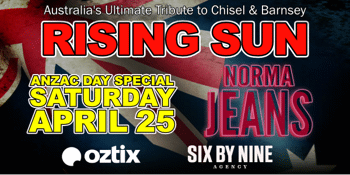 CANCELLED - Rising Sun - Chisel Barnes Tribute Show