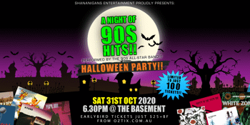 A Night of 90s Hits - Halloween Party!!