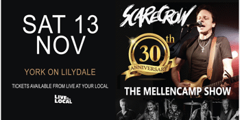 SCARECROW - The Mellencamp Show 30th Anniversary Tour