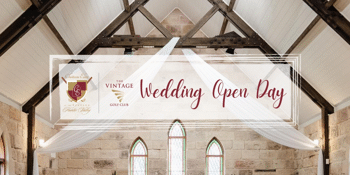 Chateau Elan at The Vintage Hunter Valley - Wedding Open Day 2022