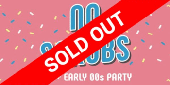 NO SCRUBS:90's + Early 00's Party