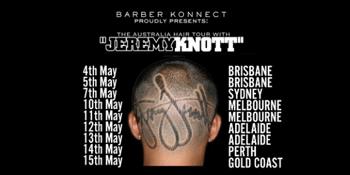 The Australian Hair Tour with Jeremy Knott 2019