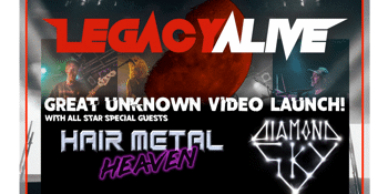 Legacy Alive - Great Unknown video/single launch