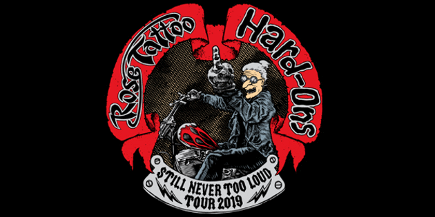 Aaa Battery Promo Code >> Rose Tattoo & Hard-Ons 'Still Never Too Loud' Tour Tickets ...