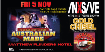 Australian Made - Oz Rock Tribute Concert