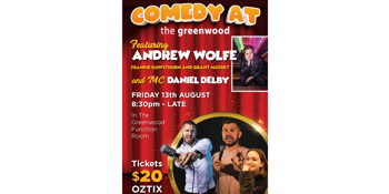 Comedy at the Greenwood