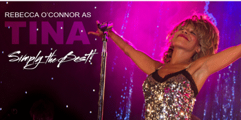 """""""Simply the Best"""" Rebecca O'Connor as Tina Turner"""