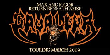 Max & Iggor Cavalera Return Beneath Arise Australian Tour 2019
