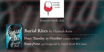 Book Club - Burial Rites | Women Words Wine
