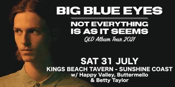 Big Blue Eyes Album Launch - Sunshine Coast