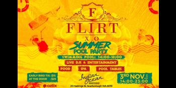 Flirt X.O Summer Pool Party