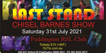 Last Stand Chisel/Barnes Show