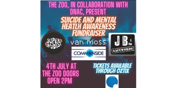 'Fundraising Gig For Suicide Awareness'