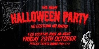 Halloween at The Newy ~ Friday