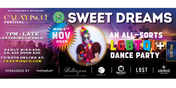 Sweet Dreams. LGBTQI+ Dance party for all sorts (A Caba'risque festival event)