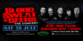 Blood, Sweat & Beers Ft. Mark Evans + Angry Anderson + Dai Pritchard + Grant Walmsley + Jim Hilbun