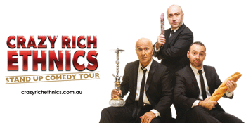 Crazy Rich Ethnics - Stand Up Comedy Tour
