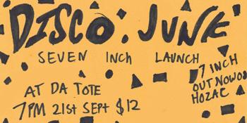 Disco Junk Single Launch