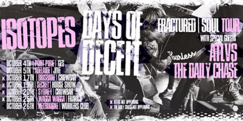 ISOTOPES  & DAYS OF DECEIT