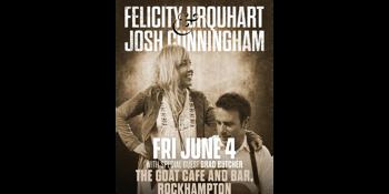 Felicity Urquhart and Josh Cunningham