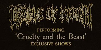 Cradle Of Filth Australian Tour 2019