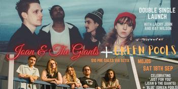 Joan & The Giants & Green Pools 'Double Single Launch'