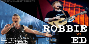 THIS IS ROBBIE Vs SHEERAN OUT LOUD - Tribute Night